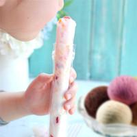 ingrosso fai la borsa diy-100 pz / pacco Plastica Fda Ghiaccioli Stampi Sacchetti Congelatore Gelato Pop Fare Stampo Fai Da Te Yogurt Bevande Estive Bambini Hand Crafts
