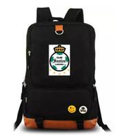 Wholesale backpack club for sale - Group buy 2018 Santos Laguna backpack day pack Football club school bag Soccer packsack Computer rucksack Sport schoolbag Outdoor daypack