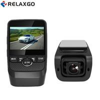 ingrosso logger nero-Relaxgo 2017 Mini Car DVR con GPS Logger Recoder video Full HD 1080P Car Camera Novatek Dash Cam Night Vision Auto Black Box