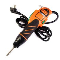 Wholesale large motor - 220-240v electric screwdriver large torque 60kgf straight plug not variable speed high quality motor gearbox for 2-8mm screws