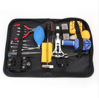 Wholesale watchmaker tool set kit for sale - Group buy 22 in Watch Repair Tool Kit Watch Opener Band Link Pin Spring Bar Tool Set Watch Battery Replacement Tool Watchmaker Tools