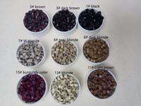 cuentas de plumas al por mayor-1000 unids 5 mm Micro Anillo Beads Silicone Bead Link microring para herramientas de extensión de cabello humano de pluma
