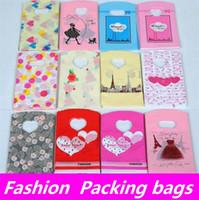 geschenke für wome großhandel-Neue wome Mode Cartoon süße große und kleine Verpackung Taschen Geschenktüten und Plastiktüten I142