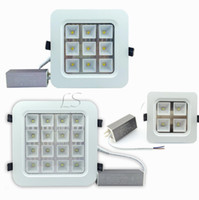 Wholesale waterproof led switch - CREE 12W 18W 32W 50W Led Ceiling Downlights High Bright Led Recessed Panel Kitchen Lighting AC 110-240V + Waterproof Drivers