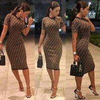 Wholesale elegant slim office dress - Summer Dress 2018 Women Elegant Vintage Office Business bodycon Dress Solid Slim Short Sleeve Sheath Party Dresses Vestidos