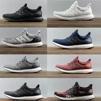 ingrosso la migliore banda di scarpe da corsa-Scarpe da corsa Ultraboost 3.0 4.0 di alta qualità Uomo Donna Ultra Boost 3.0 III Primeknit Run Sneakers sportive bianche nere 36-47