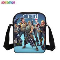 Cute Cartoon Characters Fortnite Mini Children Messenger Bag 3D Printing  Cross Body Kids Schoolbag for Boys Girl 26a5dd8ad63b8