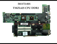 Wholesale mini itx laptop socket online - High quality for HP Pavilion DM3 laptop Motherboard AMD TMZL625 CPU DDR2 Fully Tested
