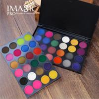 цветные тени для век оптовых-IMAGIC новая красота макияж тени для век сценический костюм косплей 48 цветные конфеты тени для век и тени для век для студии