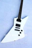 Wholesale white emg - Brand Guitar New electric guitar CUSTOM strange goose shaped electric guitars lowest price best quality EMG pickup