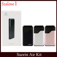 Wholesale electronics devices for sale - 100 Original Suorin Air Starter Kits W mah Battery Vape Mods ml Cartridge New All in one Device Electronic Cigarette Wax Pen