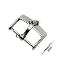 Wholesale 18mm Strap - Watch Accessories 16mm 18mm 20mm Man Women Brand Top-Grade Stainless Steel Polishing Watch Band Strap Silver Pin Buckle for Rolex Band
