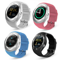 Wholesale tracking phones free online – Y1 Smart Watch quot Touch Screen Fitness Activity Tracker Sleep Monitor Pedometer Calories Track support SIM card solt