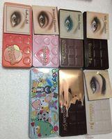 professionelle augen make-up-paletten großhandel-Sweet Peach Make-up Lidschatten Schokoriegel Halbsüße Bonbons gold / Too fAce weiß 16 Farben Professionelle Lidschatten-Palette Kostenlose Lieferung