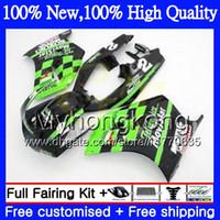 Wholesale Motorcycle Fairings Body Kits - Body Motorcycle For SUZUKI RGV250 VJ23 Movistar green 97-98 RGV 250 97 98 Bodywork 39MY5 RGV-250 VJ 23 Cowling RGV250 1997 1998 Fairing kit