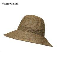 Kopfbedeckungen Für Damen Neue Damen Reise Sommer Wilden Falten Fischer Hut Sonnenschirm Kappe Faltbare Casual Hut