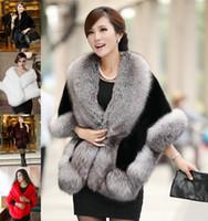 Wholesale bridesmaids winter capes for sale - Group buy New Faux Mink Fur Bridal Shrug Wrap Cape Luxury Stole Shawl Bolero Jacket Coat For Winter Wedding Bride Bridesmaid WT11