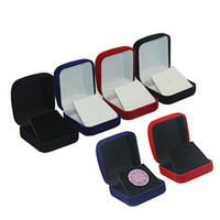 Wholesale brooch packaging resale online - Jewelry Box Brooches Badge Commemorative Coins Medal Storage Boxes Packaging Display Collective Holder Gift Boxes QW8882