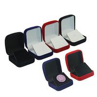 medaillenbroschen großhandel-Schmuckschatulle Broschen / Abzeichen / Gedenkmünzen / Medaille Aufbewahrungsboxen Verpackung Display Sammelhalter Geschenkboxen QW8882