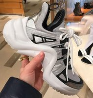 Wholesale Bow Types - Luxury Designer Sneakers Mens Women Triple S Bow type Casual Sports Shoes Hot INS Paris 18SS Milan Fashion Shoes