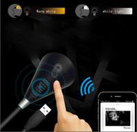 luz de livro led mini bateria venda por atacado-Venda quente novo USB Bluetooth música pequeno livro lâmpada caixa de som luz ajustável caixa de som Bluetooth luz dupla cor luz