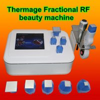 Wholesale thermage beauty machine - Portable microneedle Fractional RF thermage Micro needle face lifting Fractional RF Skin Care Beauty Machine wrinkle removal