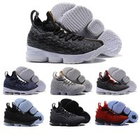 Wholesale ash brand - HOTSALE 2018 New James XV 15 LBJs Floral Ashes Ghosts Basketball Men Mens luxury Running Designer Brand Shoes Trainers Sneakers