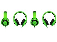 Wholesale cheap quality computers online - New Best Quality Cheap mm Razer Kraken Pro Gaming Headset with Wire control headphones in BOX for IOS Android system most popular DHL