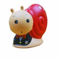 Wholesale kawaii gift box - Simulation PU Squishies Animal Snail Shape Slow Rising Squishy Kawaii Kids And Children Gift Toys Hot Sale 25ym CB