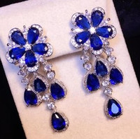 mavi han toptan satış-chaming mavi elmas kristal 925 hanımın küpe (4.8CM * 1.6CM) fgfdg