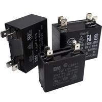 rubycon-elektrolyt-kondensatoren großhandel-450VAC CBB61 Kondensator 5/6 / 6,5 / 7/8/10/12 / 14uF / 15uF / 16uF / 18uF / 20uF / 25uF für Klimaanlagenlüfter