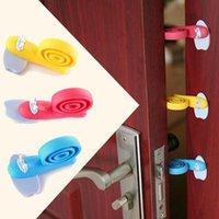Wholesale cute door stoppers for sale - Group buy 5PCS Baby Kids Safety Cute Snail Door Stop Finger Pinch Guard Lock Stopper Protector Windproof Plug fencing Door Windproof Plug