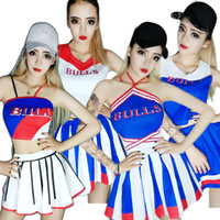 tela de jazz al por mayor-Hip Hop Cheerleading Jazz Dance Disfraces Sexy Led Traje Rave Clothes Nightclub Cantante Pole Dance Clothing Stage Outfits DN2058