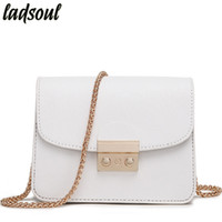Wholesale g bags wholesale - Ladsoul Mini Women Messenger Bags Good Quality Women Shoulder Bag Ladies Small Clutches Chain Crossbody Bags Tote ls8927 g