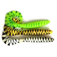 señuelos grub worm al por mayor-Envío Gratis 15.5 cm Enorme Twister Grub Pesca Señuelo Suave Cebo wisted Cola Suave Gusano Cola Rizada Tackle de pesca