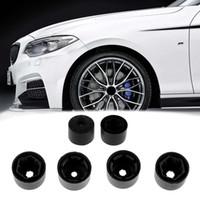 Wholesale golf screw - 20Pcs Car Wheel Nut Bolt Tire Screw Cover Cap 17mm For VW Golf MK4 Passat Audi