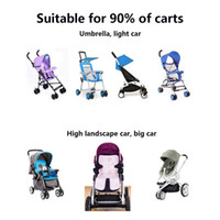 Wholesale Baby Stroller Cooling Mat Infant Baby Summer Linen Ice Silk Sleeping Mat for Strollers and Carriers Car Seat Mat No Need Refrigeration N