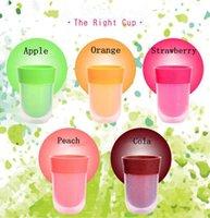ingrosso tazza di acqua magica-The Right Cup Fruit Flavored Cup Bere acqua The Overall Flavour Experience Magic Cup Unguento Juice Bottle OOA4806