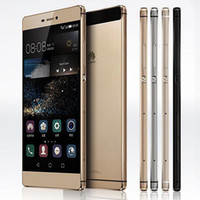 Wholesale huawei dual camera online – Refurbished Original Huawei P8 inch Octa Core GB RAM GB GB ROM MP G LTE Dual SIM Android Mobile Cell Phone Free DHL