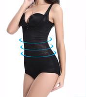 bodysuits feminino frete grátis venda por atacado-Venda quente Alta Elasticidade Espartilho Cintura Design Bodysuits Mulheres Shapewear Elegante Corpo Escultura Collant Luz Respirável frete grátis
