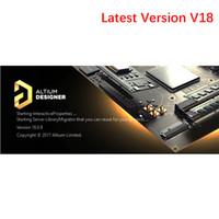 Wholesale Graphic Products - Latest Version Altium Designer 18 Electronic Product Development Design PCB Electric Circuit Design Software For Win 64Bit Multi-language