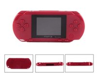 Wholesale 16 bit portable game consoles for sale - PXP3 Portable Mini Game Video Console Bit PVP TV Out Games For PXP Card Station bit Gaming Console Player Kids Intelligence games