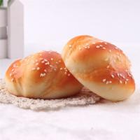 поддельный хлеб оптовых-Детская кухня игрушки Пончики Пончики Имитационная Модель Искусственные Поддельные Хлеб Украшения Торт Пекарня Craft бесплатная доставка