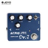 aluminium-effektpedal groihandel-Joyo Dr.J D-55 Aerolite Compression E-Gitarre Effektpedal Aluminiumlegierung Gehäuse True Bypass
