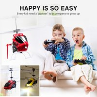 Wholesale Ch Toy - RC drone Syma W25 RC Helicopter 2 CH 2 Channel Mini RC Drones With Gyro Crash Resistant Toys Kids Boy Gift Red Yellow