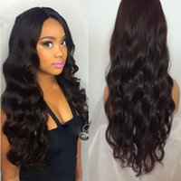 Mongolian Virgin Hair Lace Front Human Hair Wigs Glueless 8-26 Inch Body Wave Full Lace Wigs Fast Shipping