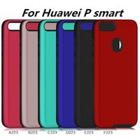 Wholesale honor back case leather for sale - Phone case For Huawei P smart For Huawei Enjoy S Honor Lite Honor Youth Edition Case Hybrid Armor Back Cover C