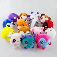 Wholesale plush penguin toys online - 9cm Penguin Unicorn Squishy Slow Rising Foamed Stuffed Plush Doll Kids Squishamals Xmas Toys Novelty Items CCA10647