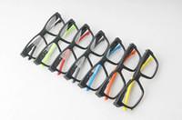 Wholesale light up eyeglasses resale online - NEW O up grade ultra light sporty glasses frame comfortable safety wearing TR90 prescription glasses unisex muti color OEM factory