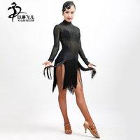 ingrosso abiti da ballo della sala da ballo-2017 Nuovo vestito latino frangia PartyBallroom Latin DanceShow Girl / ballroom dress woman
